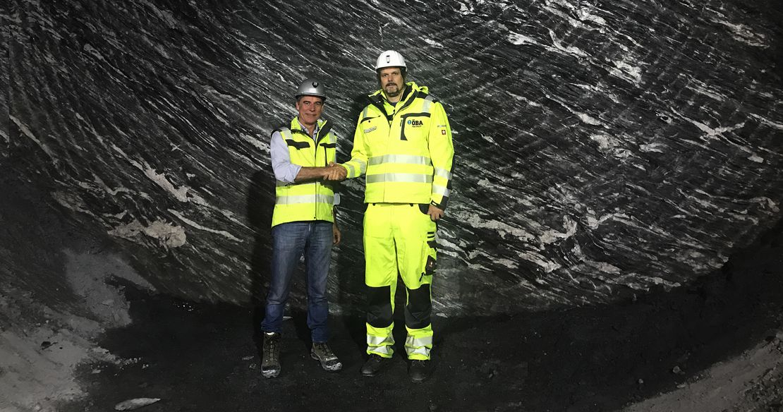 Highest daily advance rate in TBM tunnel excavation