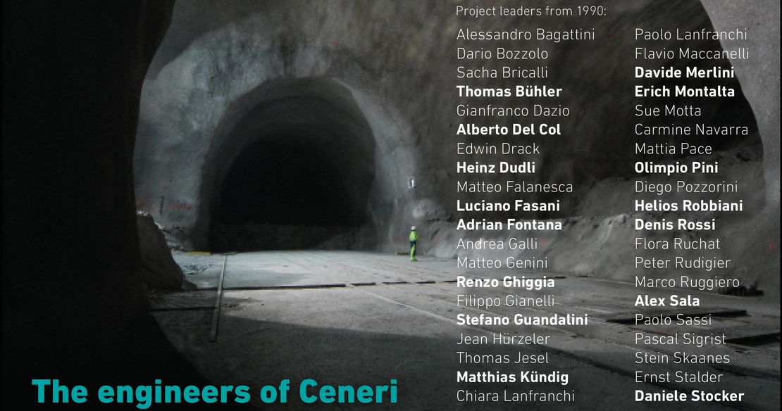 The engineers of the Ceneri