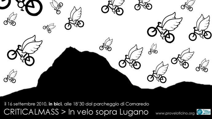 In velo sopra Lugano
