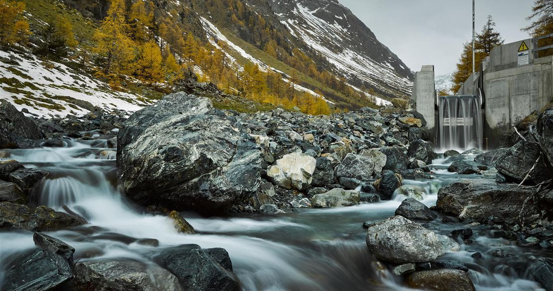 Wasserfassung Lavin