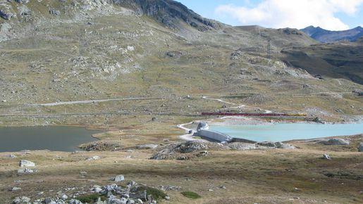 Übersicht Berninapass