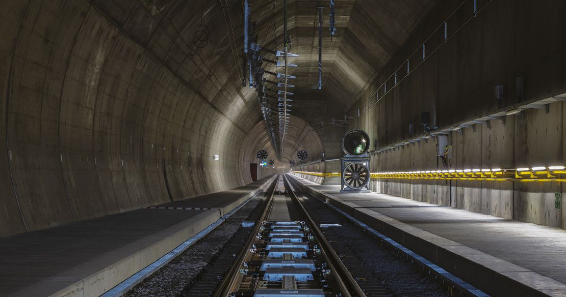 Alptransit: Ceneri Base Tunnel
