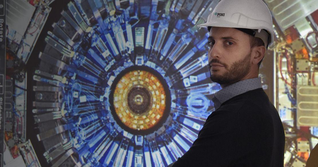 New underground structures at LHC Point 5